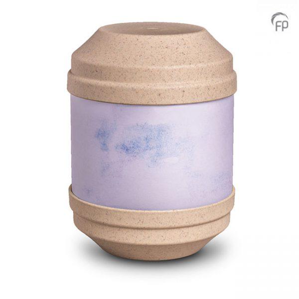 Biologisch afbreekbare urn, beschrijfbaar