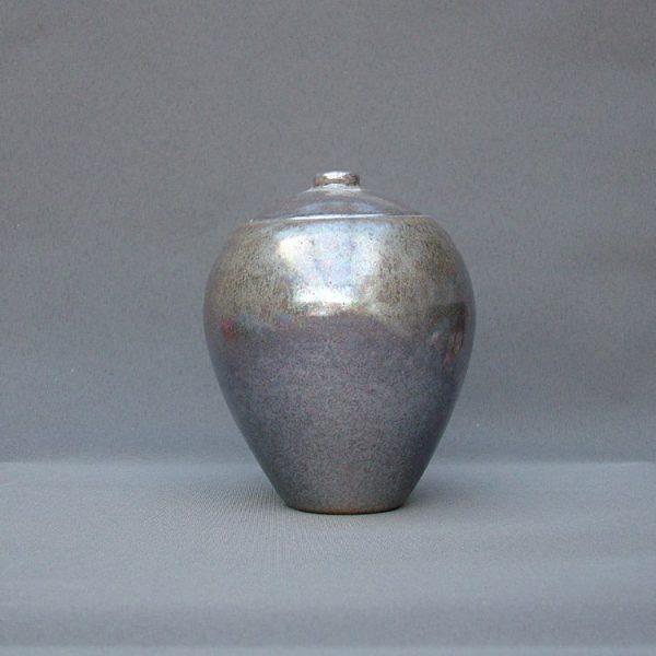 Keramische eigen ontwerp keepsake urn, Zilver