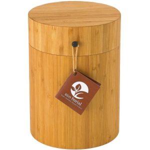 bamboe urn eco burial