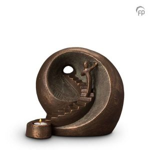 Keramische urn Naar het licht - waxine