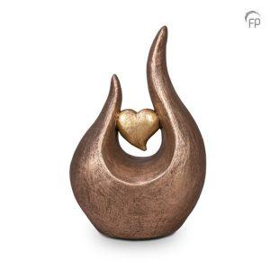 Keramische urn Fuego hart
