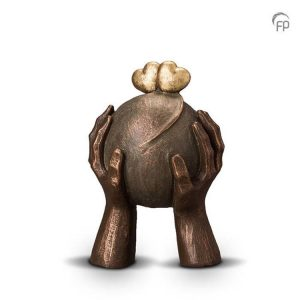 Keramische urn Liefde - middelgroot