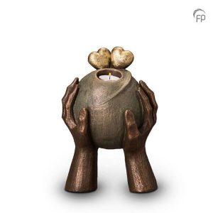 Keramische urn Liefde - middelgroot waxine