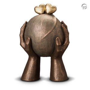 Keramische urn Liefde