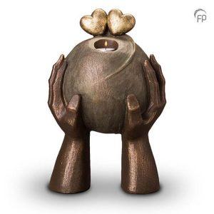 Keramische urn Liefde - waxine