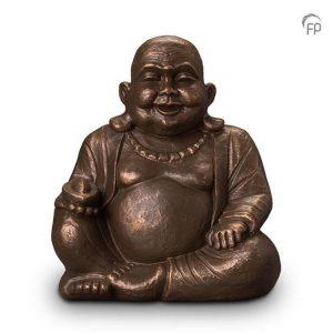 Keramische urn Boeddha