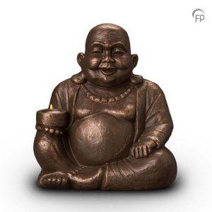 Keramische urn Boeddha - waxine