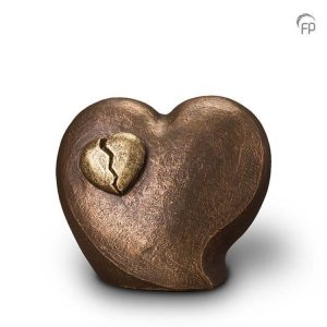 Keramische urn In de liefde ligt pijn