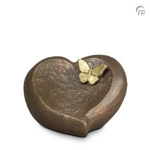 Keramische urn Onontkoombaar afscheid