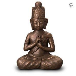Keramische urn Boeddha Dai Nichi