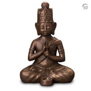 Keramische urn Boeddha Dai Nichi - waxine