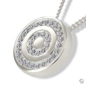 AH 078 Ashanger Cirkels 925 Zilver Sterling