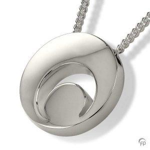 AH 088 Ashanger Halve Maan 925 Zilver Sterling