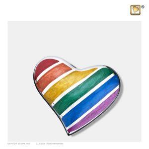 H222 - Mini Urn Hart Design Pride