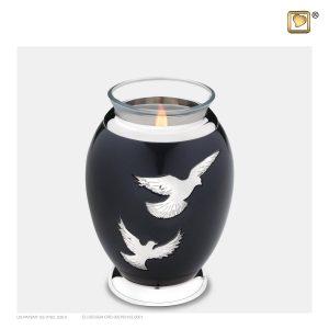 T270 - Urn Waxinelichthouder Nirvana Adieu
