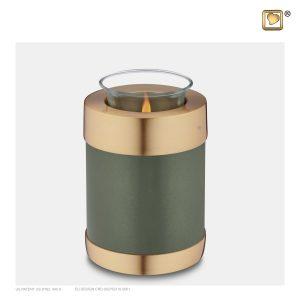 T672 - Urn Waxinelichthouder Groen
