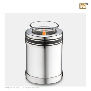 T669 - Urn Waxinelichthouder Art Deco