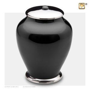 A520 - Urn Simplicity Zwart Zilver